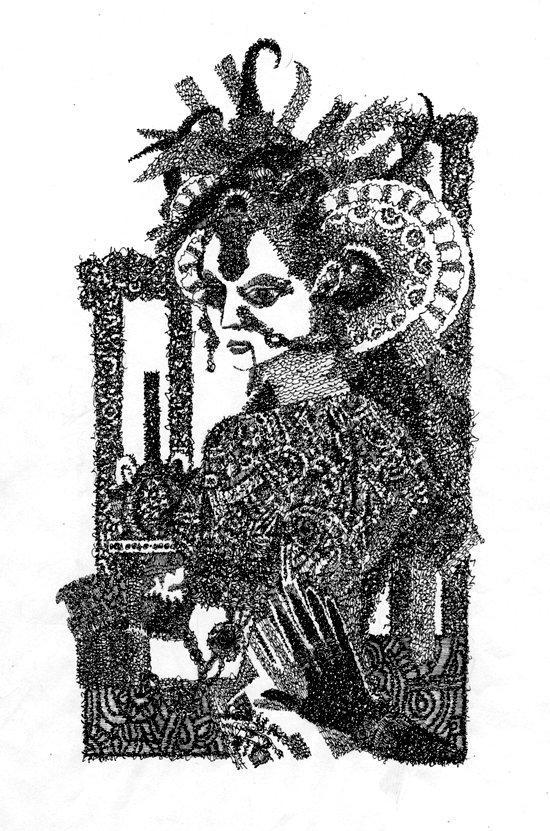 графика Алексея Ильинова