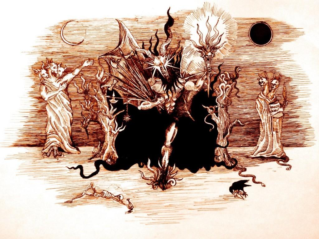 Асмодей и Астарот встречают Азазеля.