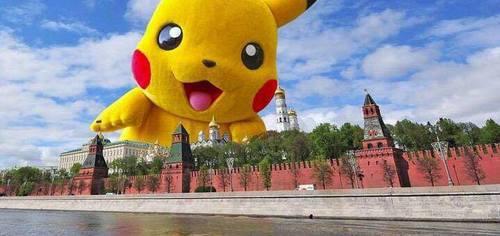 покемоны захватывают кремль