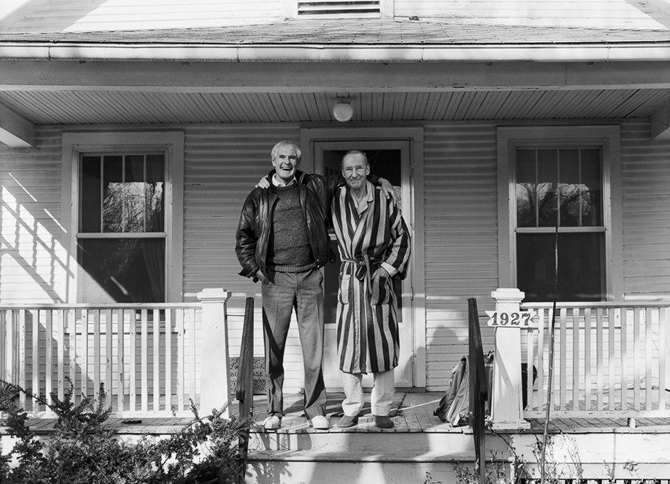 Уильям Берроуз и Тимоти Лири, Лоурэнс, Канзас, 13 марта, 1987, 8:30 утра