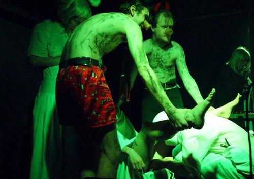 аборт во время выступления Альбины Сексовой