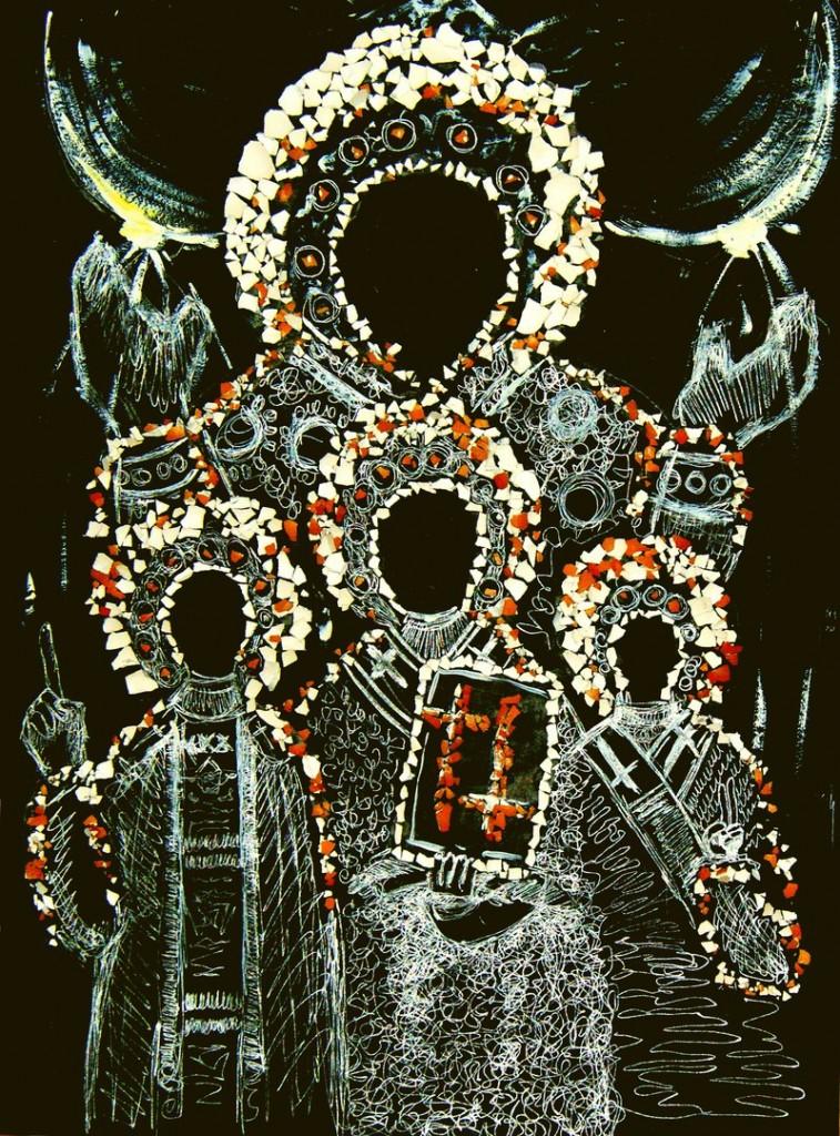 Икона из коллекции тоталитарной секты Краденый Хлебъ