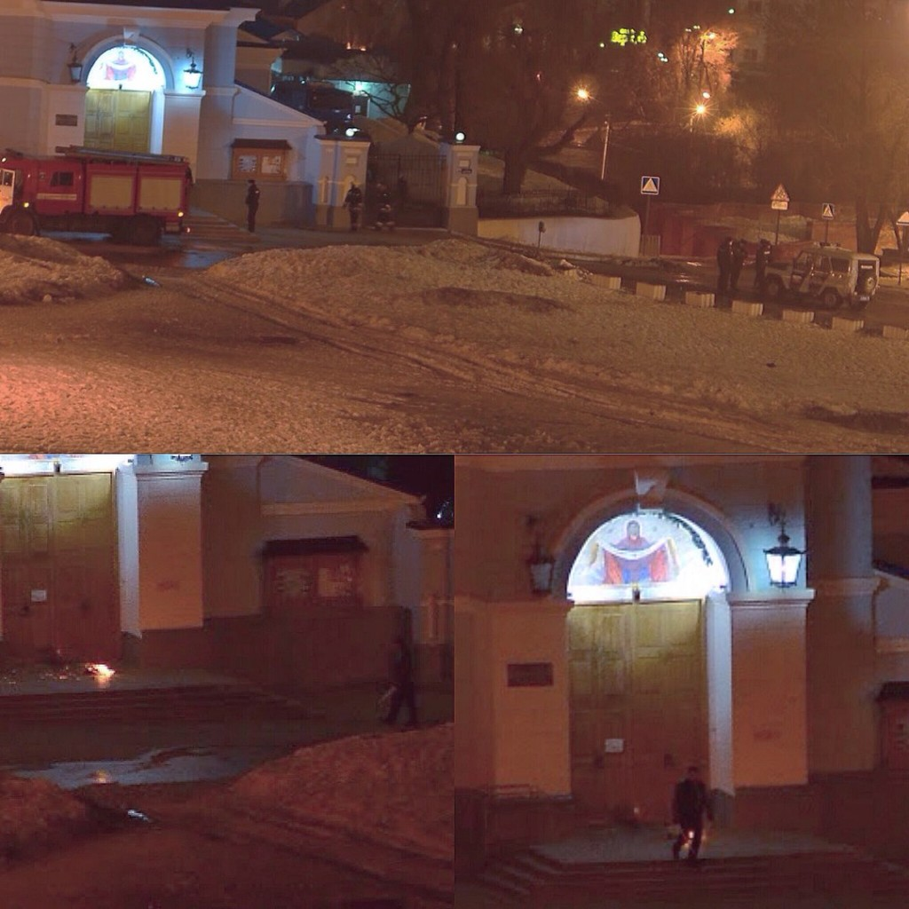 попытка поджечь Покровский храм