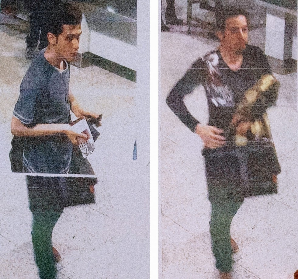 Поури Нур Мохаммади, 19 лет, и Делавар Сейед Мохаммадреза, 29 лет, которые высадились на рейсах MH370 авиакомпании Malaysia Airlines с украденными паспортами. Агенты ЦРУ?