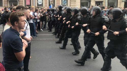 СПб против пенсионной реформы