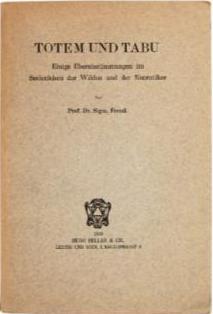 «Тотем и табу», обложка первого издания