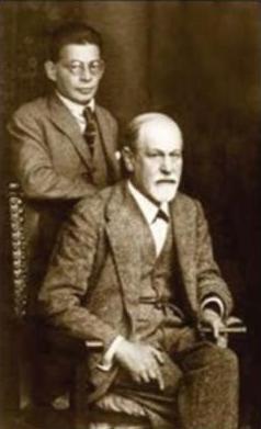 Отто Ранк и Зигмунд Фрейд